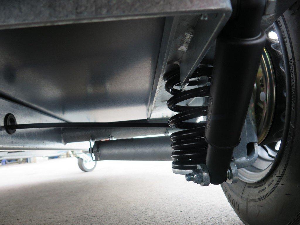 Easyline motortrailer 300x151x170cm 1300kg gesloten Aanhangwagens XXL West Brabant 2.0 wielophanging Aanhangwagens XXL West Brabant