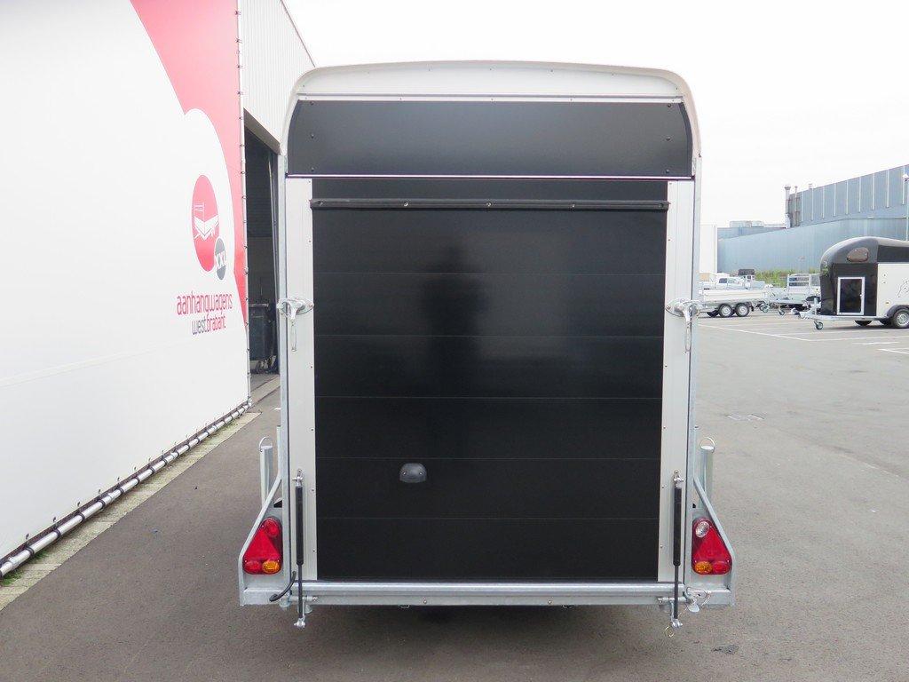 Easyline motortrailer 302x150x195cm 1300kg gesloten Aanhangwagens XXL West Brabant 2.0 achter dicht Aanhangwagens XXL West Brabant