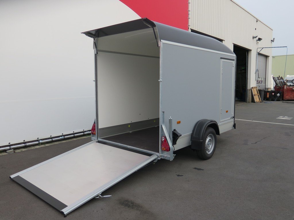 Easyline motortrailer 302x150x195cm 1300kg gesloten Aanhangwagens XXL West Brabant 2.0 achterklep Aanhangwagens XXL West Brabant