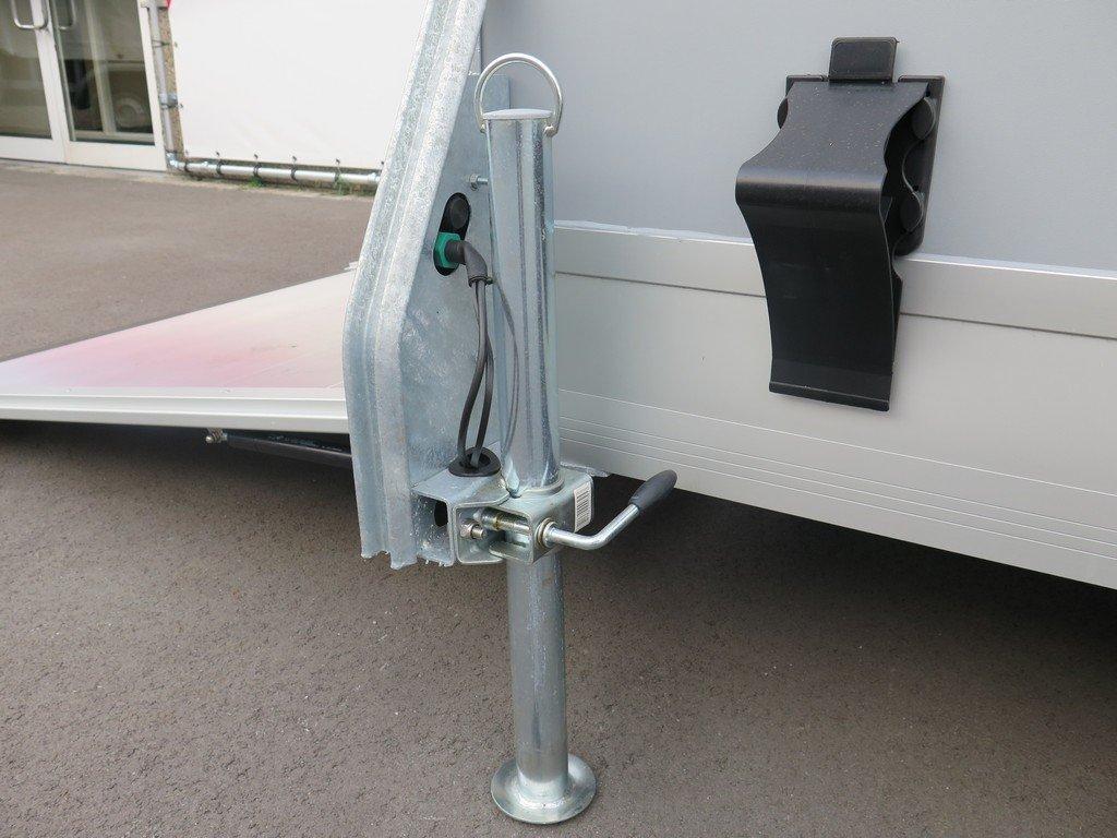 Easyline motortrailer 302x150x195cm 1300kg gesloten Aanhangwagens XXL West Brabant 2.0 steunpoten Aanhangwagens XXL West Brabant