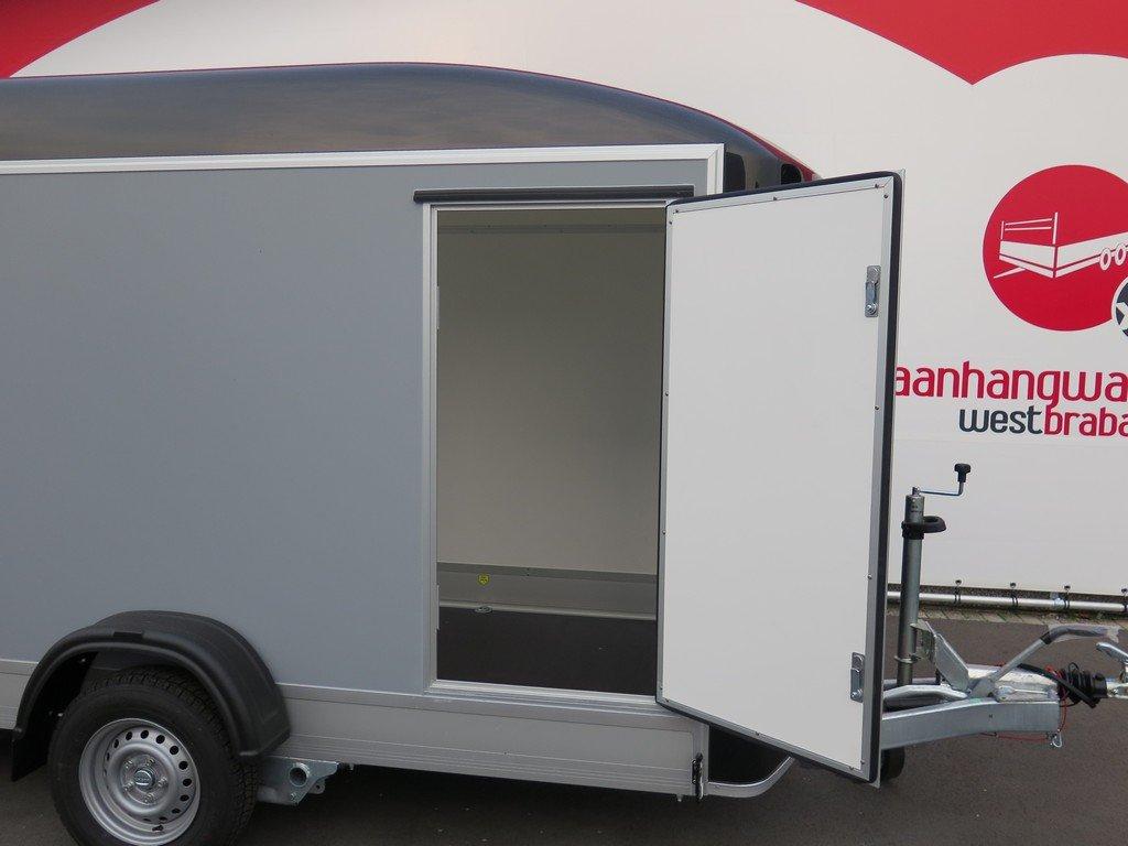 Easyline motortrailer 302x150x195cm 1300kg gesloten Aanhangwagens XXL West Brabant 2.0 zijdeur Aanhangwagens XXL West Brabant