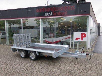 Hulco Basic machinetransporter 294x150cm 2600kg Aanhangwagens XXL West Brabant hoofd Aanhangwagens XXL West Brabant