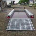 Hulco machinetransporter 300x150cm 1800kg Basic Aanhangwagens XXL West Brabant 2.0 achter open Aanhangwagens XXL West Brabant