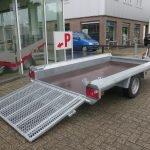 Hulco machinetransporter 300x150cm 1800kg Basic Aanhangwagens XXL West Brabant 2.0 oprijklep Aanhangwagens XXL West Brabant