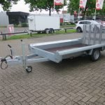 Hulco machinetransporter 300x150cm 1800kg Basic Aanhangwagens XXL West Brabant 2.0 overzicht Aanhangwagens XXL West Brabant