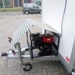 Proline koelwagen met stroomvoorziening Aanhangwagens XXL West Brabant aggregaat Aanhangwagens XXL West Brabant