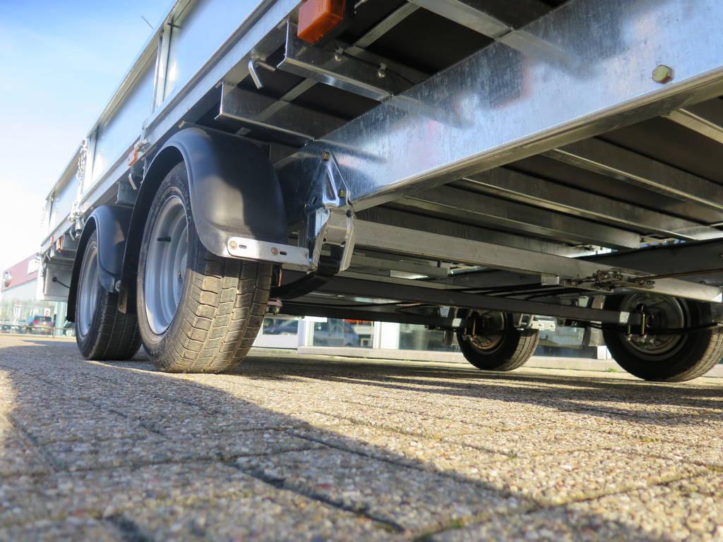 Ifor Williams plateau 547x225cm 3500kg 2-as Aanhangwagens XXL West Brabant onderstel Aanhangwagens XXL West Brabant