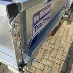 Ifor Williams plateau 547x225cm 3500kg 2-as Aanhangwagens XXL West Brabant sluiting Aanhangwagens XXL West Brabant