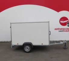 Easyline gesloten aanhanger 250x125x150cm 750kg Aanhangwagens XXL West Brabant hoofd Aanhangwagens XXL West Brabant