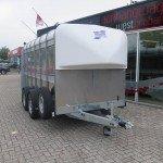 Ifor Williams veetrailer 366x178x183cm klep deur systeem veetrailers Aanhangwagens XXL West Brabant overzicht Aanhangwagens XXL West Brabant