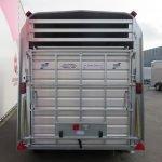 Ifor Williams veetrailer 427x178x213cm 3500kg tridemas Aanhangwagens XXL West Brabant 2.0 achter dicht Aanhangwagens XXL West Brabant
