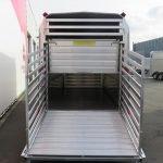 Ifor Williams veetrailer 427x178x213cm 3500kg tridemas Aanhangwagens XXL West Brabant 2.0 achter open Aanhangwagens XXL West Brabant