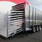Ifor Williams veetrailer 427x178x213cm 3500kg tridemas Aanhangwagens XXL West Brabant 2.0 achterklep Aanhangwagens XXL West Brabant