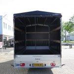 Proline plateauwagen met huif 400x220x210cm 3500kg Aanhangwagens XXL West Brabant achter open Aanhangwagens XXL West Brabant