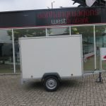 Easyline gesloten aanhanger 200x125x150cm 750kg Aanhangwagens XXL West Brabant hoofd