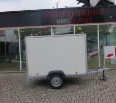 Easyline gesloten aanhanger 200x125x150cm 750kg Aanhangwagens XXL West Brabant hoofd Aanhangwagens XXL West Brabant