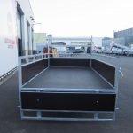 Loady enkelas aanhanger 250x130cm 750kg Aanhangwagens XXL West Brabant 2.0 achter open Aanhangwagens XXL West Brabant
