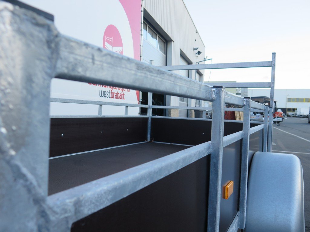 Loady enkelas aanhanger 250x130cm 750kg Aanhangwagens XXL West Brabant 2.0 bindreling Aanhangwagens XXL West Brabant