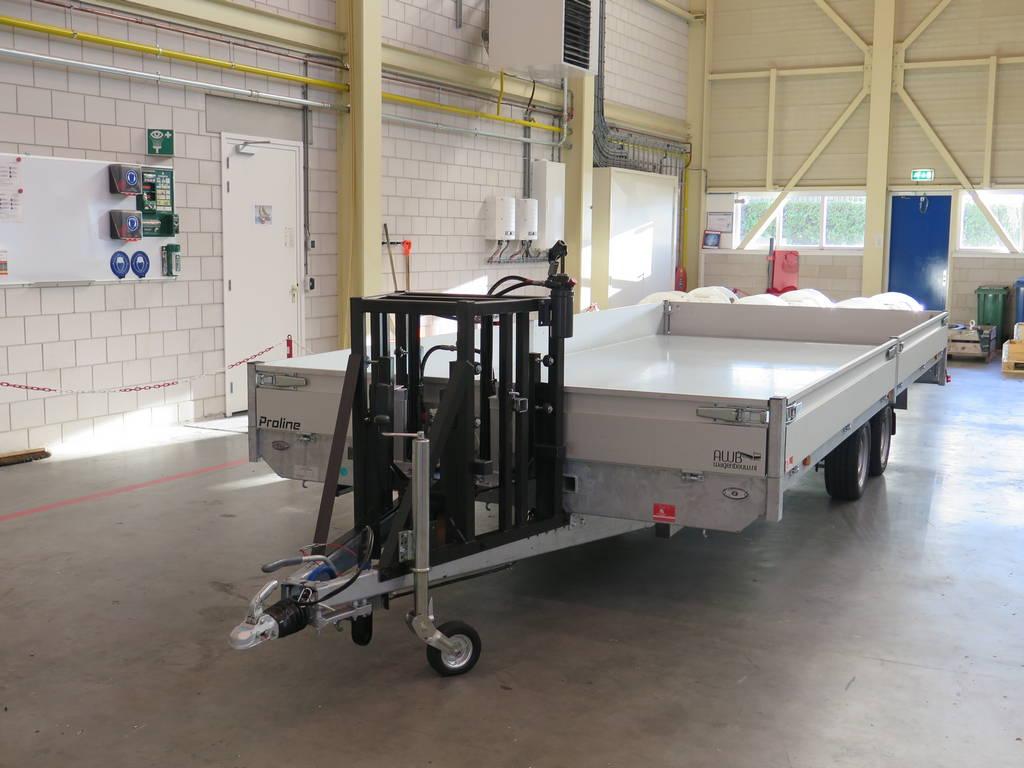 Maatwerk aanhangwagen met hydraulisch neuswiel maatwerk-aanhangwagen-met-hydraulisch-neuswiel-612x248cm-3500kg-speciaalbouw-aanhangwagens-xxl-west-brabant-detail