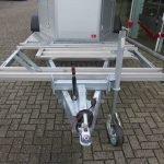Humbaur Xanthos Koetsentrailer Aanhangwagens XXL West Brabant 2.0 rails voor koets