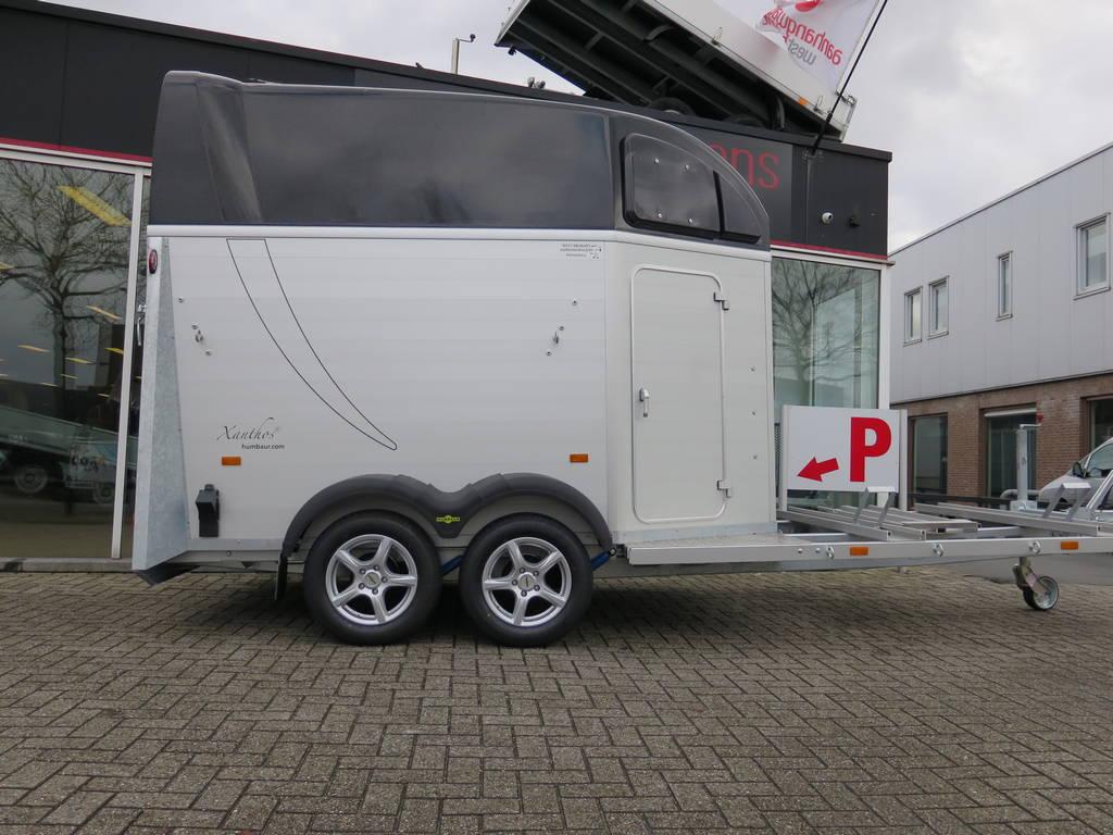 Humbaur Xanthos Koetsentrailer Aanhangwagens XXL West Brabant 2.0 zijkant