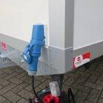 Maatwerk gesloten aanhangwagen 500x244x230cm speciaalbouw Aanhangwagens XXL West Brabant elektra buitenkant 2.0 Aanhangwagens XXL West Brabant