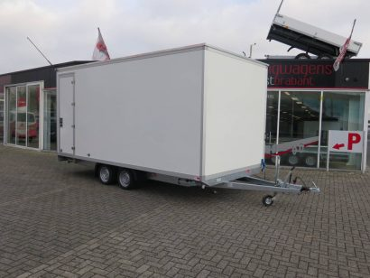 Maatwerk gesloten aanhangwagen 500x244x230cm speciaalbouw Aanhangwagens XXL West Brabant hoofd 2.0