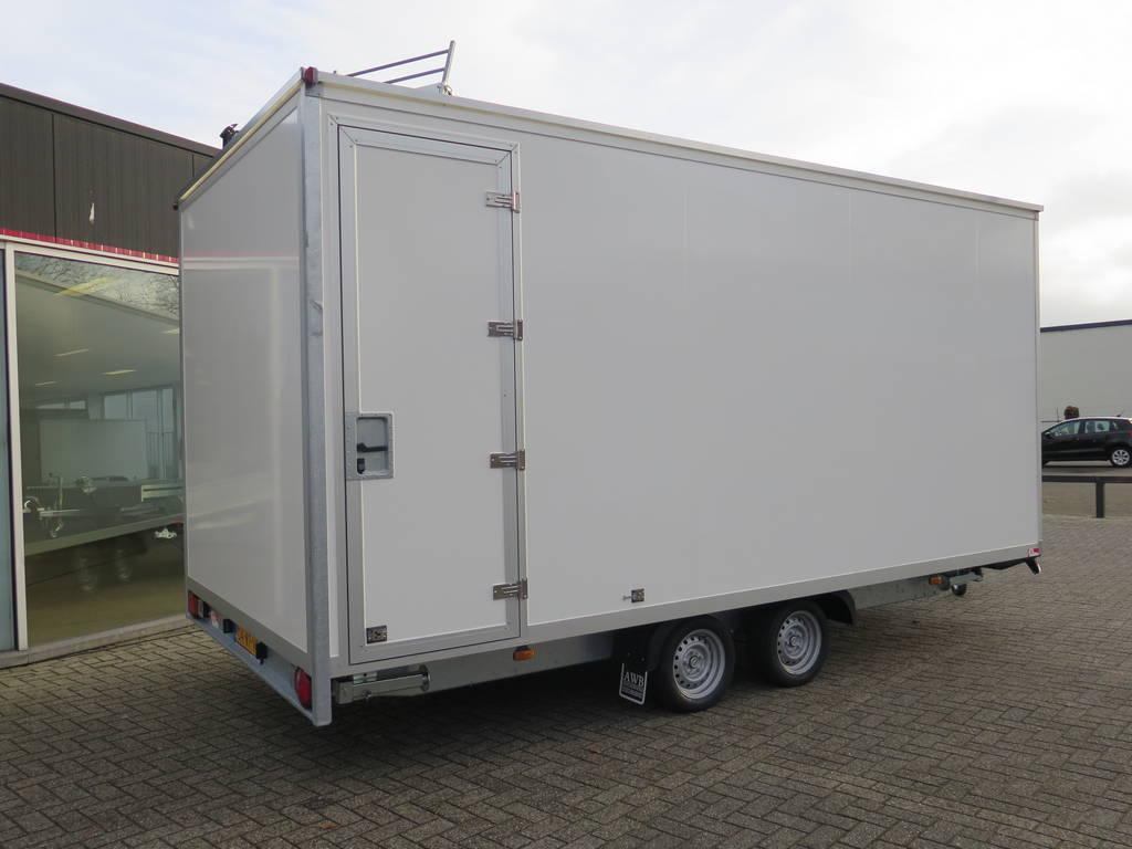 Maatwerk gesloten aanhangwagen 500x244x230cm speciaalbouw Aanhangwagens XXL West Brabant overzicht 2.0 Aanhangwagens XXL West Brabant