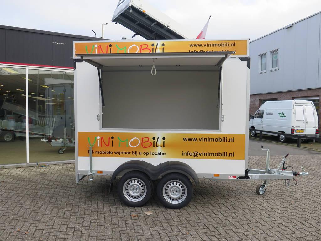 Proline maatwerk verkoopwagen 303x150x200cm 2500kg speciaalbouw Aanhangwagens XXL West Brabant hoofd Aanhangwagens XXL West Brabant