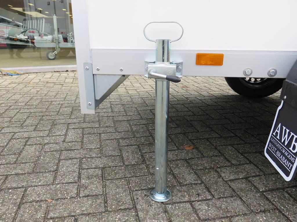 Proline maatwerk verkoopwagen 303x150x200cm 2500kg speciaalbouw Aanhangwagens XXL West Brabant steunpoot Aanhangwagens XXL West Brabant