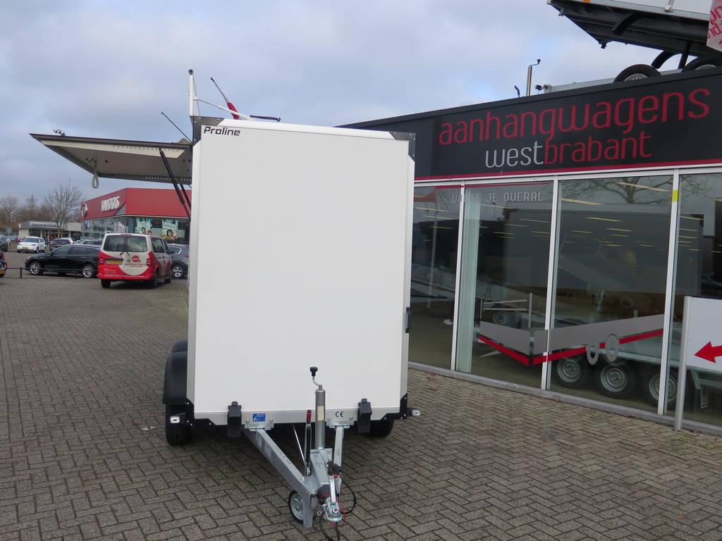 Proline maatwerk verkoopwagen 303x150x200cm 2500kg speciaalbouw Aanhangwagens XXL West Brabant voorkant Aanhangwagens XXL West Brabant