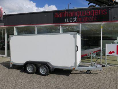Easyline gesloten ballonwagen 350x140x145cm 1500kg speciaalbouw Aanhangwagens XXL West Brabant hoofd Aanhangwagens XXL West Brabant