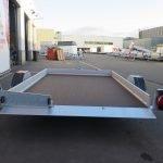 Humbaur motortrailer 280x175cm 1350kg zakbaar Aanhangwagens XXL West Brabant 2.0 achter vlak Aanhangwagens XXL West Brabant
