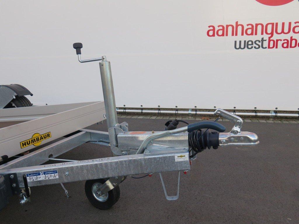 Humbaur motortrailer 280x175cm 1350kg zakbaar Aanhangwagens XXL West Brabant 2.0 dissel Aanhangwagens XXL West Brabant
