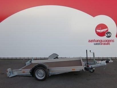 Humbaur motortrailer 280x175cm 1350kg zakbaar Aanhangwagens XXL West Brabant 2.0 hoofd Aanhangwagens XXL West Brabant