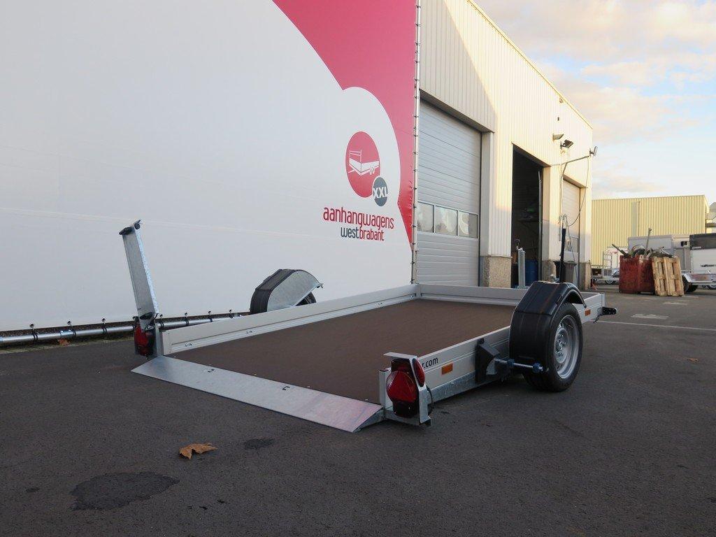 Humbaur motortrailer 280x175cm 1350kg zakbaar Aanhangwagens XXL West Brabant 2.0 oprijhoogte Aanhangwagens XXL West Brabant