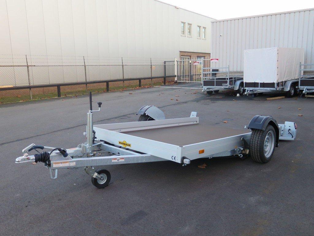 Humbaur motortrailer 280x175cm 1350kg zakbaar Aanhangwagens XXL West Brabant 2.0 overzicht Aanhangwagens XXL West Brabant