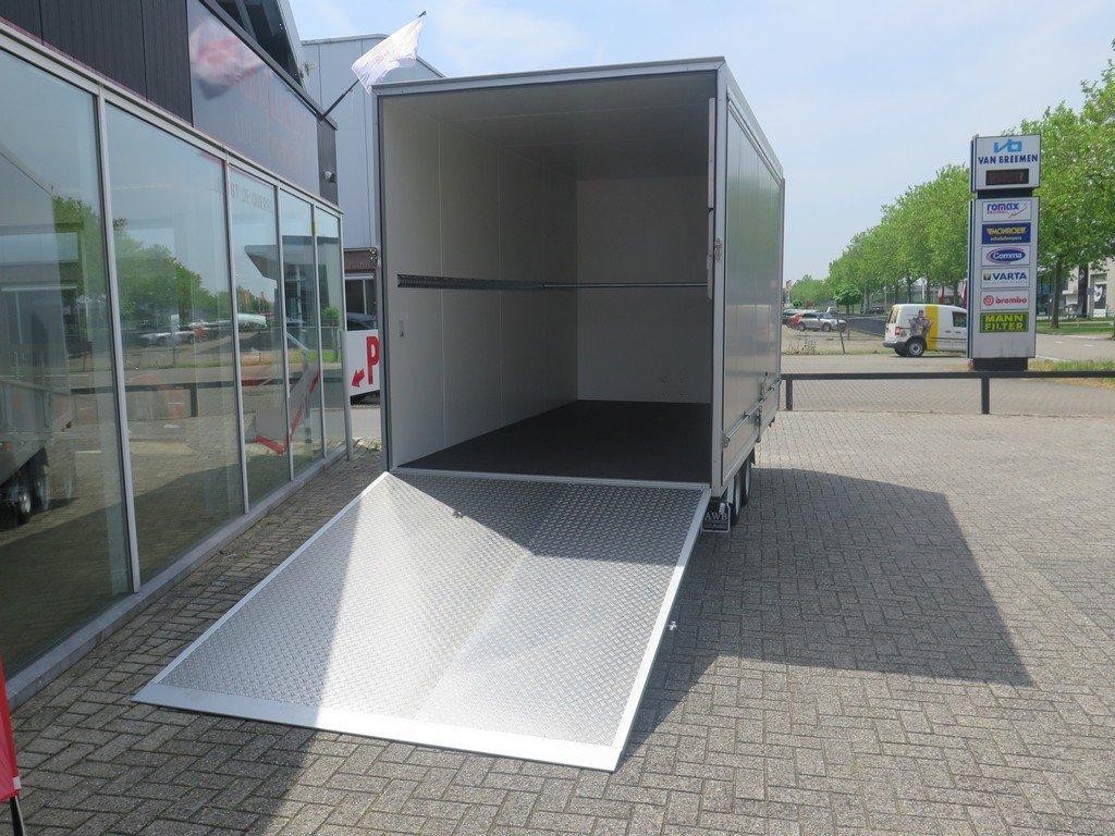Proline bloemenwagen 425x204x230cm 2600kg Proline bloemenwagen 425x204x230cm 2600kg Aanhangwagens XXL West Brabant achterkant open