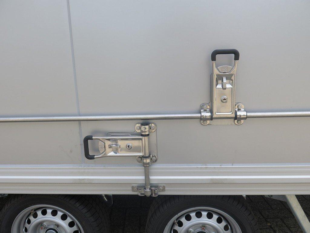 Proline bloemenwagen 425x204x230cm 2600kg Proline bloemenwagen 425x204x230cm 2600kg Aanhangwagens XXL West Brabant sluitingen