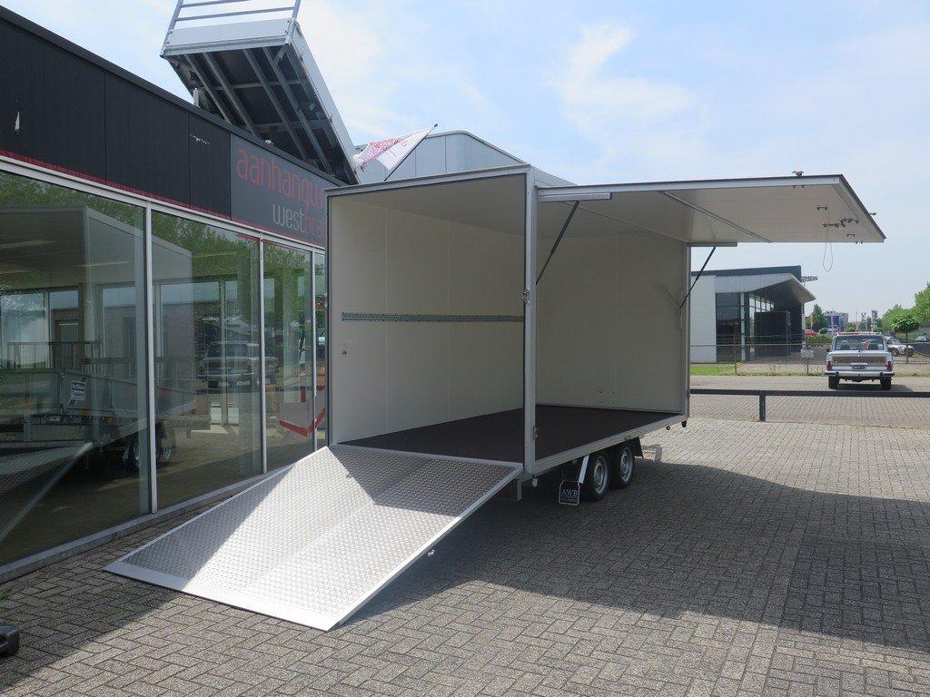 Proline bloemenwagen 425x204x230cm 2600kg Proline bloemenwagen 425x204x230cm 2600kg Aanhangwagens XXL West Brabant volledig open
