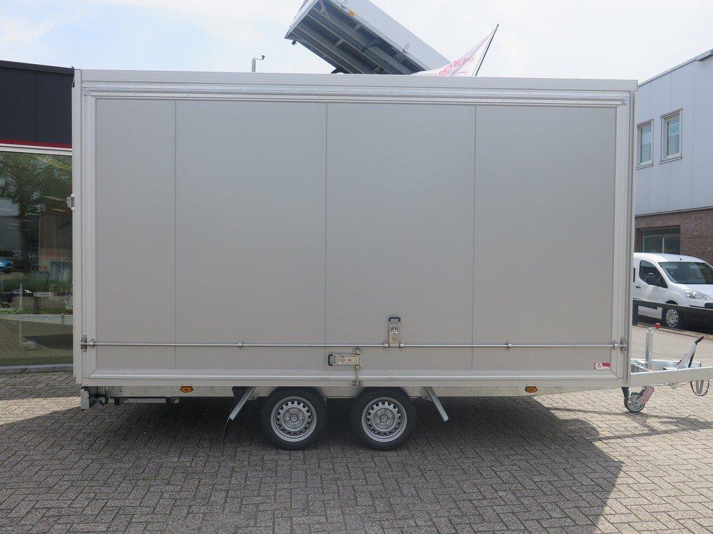 Proline bloemenwagen 425x204x230cm 2600kg Proline bloemenwagen 425x204x230cm 2600kg Aanhangwagens XXL West Brabant zijkant dicht