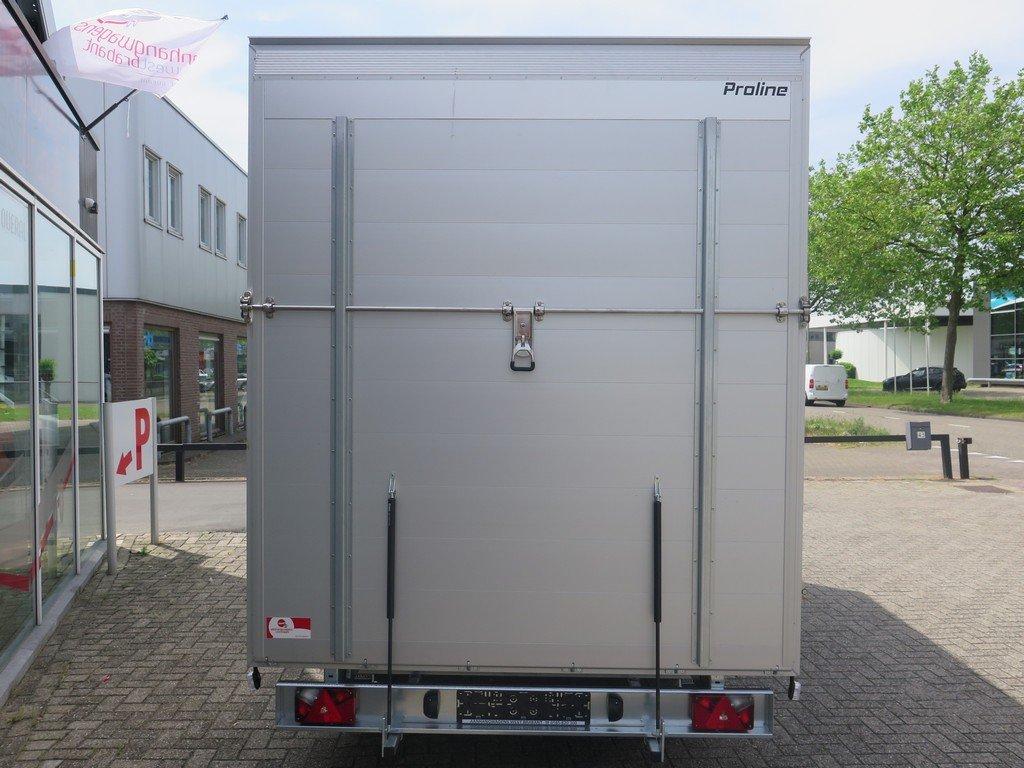 Proline gesloten aanhanger 425x204x230cm 2600kg Aanhangwagens XXL West Brabant achter dicht Aanhangwagens XXL West Brabant