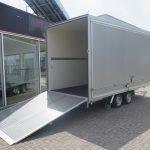Proline gesloten aanhanger 425x204x230cm 2600kg Aanhangwagens XXL West Brabant achter open Aanhangwagens XXL West Brabant