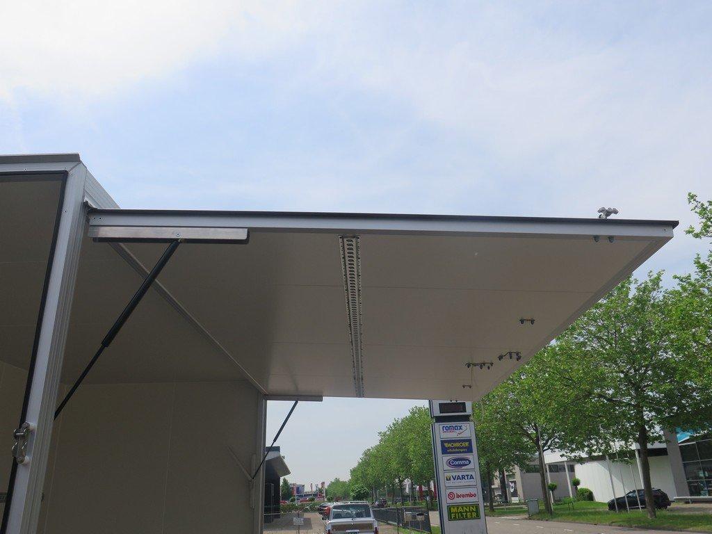 Proline gesloten aanhanger 425x204x230cm 2600kg Aanhangwagens XXL West Brabant zijklep Aanhangwagens XXL West Brabant