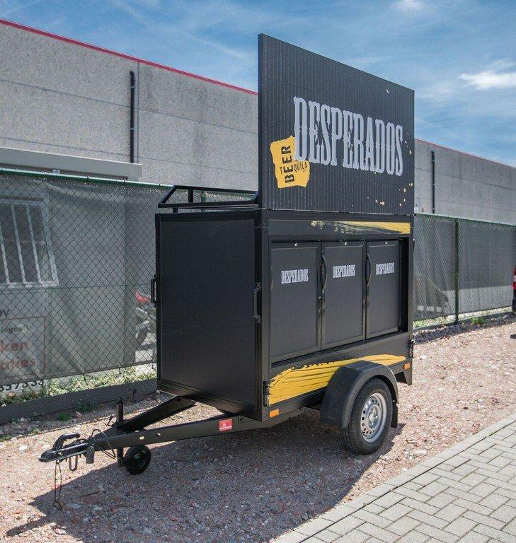 Maatwerk Easyline gesloten evenementenwagen Aanhangwagens XXL West Brabant hoofd Aanhangwagens XXL West Brabant