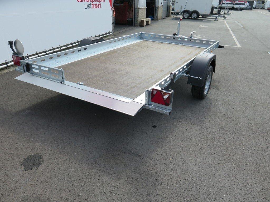 Proline autotransporter 312x180cm 1500kg Aanhangwagens XXL West Brabant achter vlak Aanhangwagens XXL West Brabant