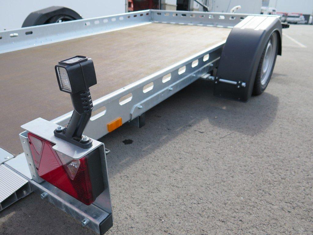 Proline autotransporter 312x180cm 1500kg Aanhangwagens XXL West Brabant bindmogelijkheden Aanhangwagens XXL West Brabant