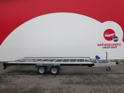 Proline autotransporter 450x210cm 2700kg Aanhangwagens XXL West Brabant hoofd Aanhangwagens XXL West Brabant