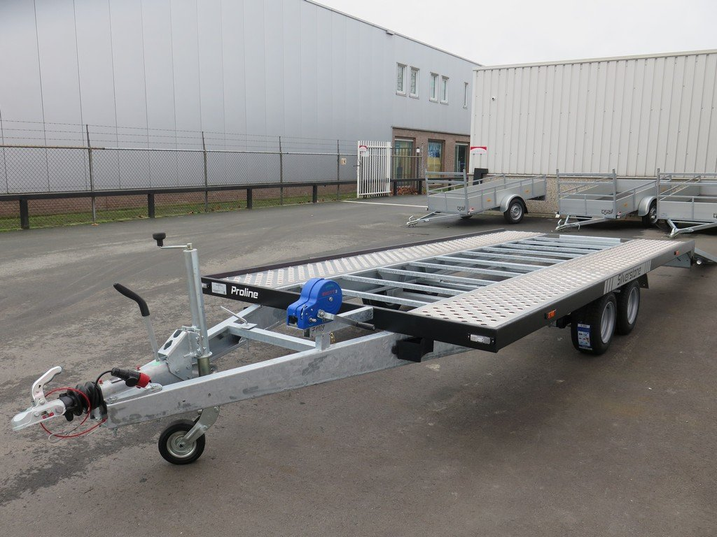 Proline Silverstone autotransporter 450x210cm 2700kg Proline autotransporter 450x210cm 2700kg Aanhangwagens XXL West Brabant overzicht