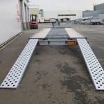 Proline autotransporter 501x210cm 3000kg Aanhangwagens XXL West Brabant 2.0 achterkant